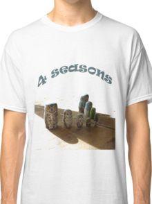 4 Seizoenen en een uil Classic T-Shirt