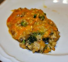 Recipes For Divine Living: Broccoli Mushroom and Brown Rice Casserole