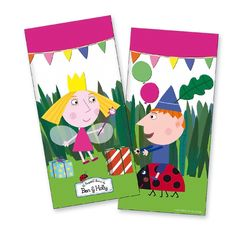 Ben & Holly's Little Kingdom Party Bags
