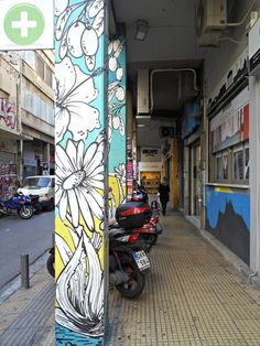 Looking for things to do in Athens? Athens's Monastiraki and Plaka neighborhoods are great for graffiti spotting. I took my camera and went out hunting for street art. Click to read more or pin and save for later!