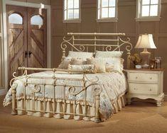 cama vintage crudo