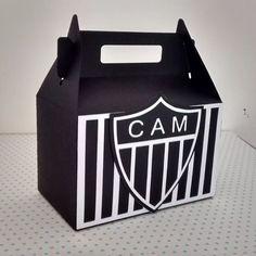 3d401846b5 Personalizados - Caixinha Surpresa Festa Atlético Mineiro - R  4