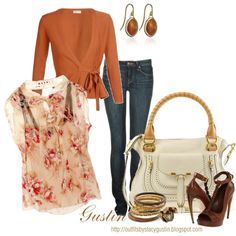 floral and jeans Girls Jeans, Floral Tops, Stylish Outfits, Nice Outfits,  Fashion 02bc89791283