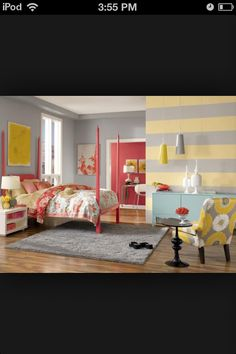 Cool bedrooms on pinterest bedrooms pink grey bedrooms for Really cool bedrooms
