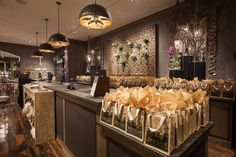 Gift bags were assembled for all who attended the Arhaus Grand Opening Party!