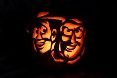 1000 images about halloween samhain on pinterest for Buzz lightyear pumpkin template