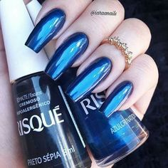 39 Ideas For Fails Design Long Matte Manicures Cute Nail Polish, Mermaid Nails, Luxury Nails, Colorful Nail Designs, Nagel Gel, Fabulous Nails, Blue Nails, Stiletto Nails, Nail Manicure