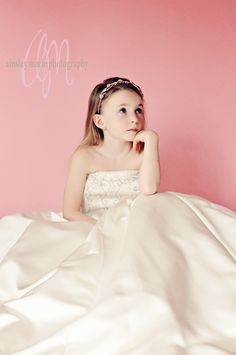 A mother's Dream!  Her daughter in her very own wedding dress!