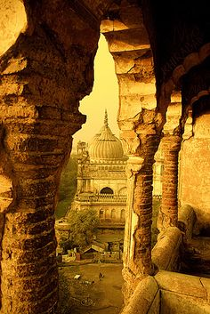 Labyrinth, Lucknow, India. - loved & pinned by www.omved.com