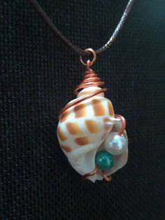 Items similar to Copper Snail on Etsy Seashell Jewelry, Seashell Crafts, Beach Jewelry, Sea Glass Jewelry, Cute Jewelry, Jewelry Crafts, Jewelry Art, Handmade Jewelry, Jewelry Design