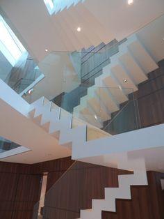 Staircase, House A, designed by HildmannWilke Studio,