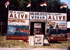 Ricky Dennis Sideshow-Headless Woman