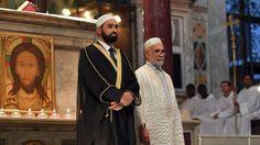 EDNAIJANEWS: France church attack: Muslims attend Mass- photos