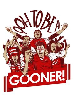 Oooh to be a Gooner!