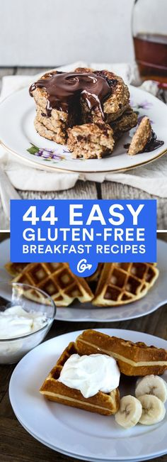 Going gluten-free doesn't mean giving up baked goods, quiche, bars, or pizza (yeah, you read that right) as a morning meal! #glutenfree #breakfast #recipes http://greatist.com/eat/gluten-free-breakfast-recipes