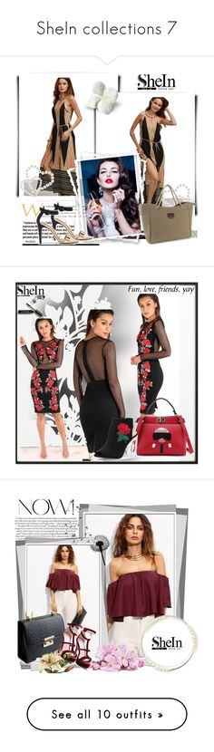 """""""SheIn collections 7"""" by ozil1982 ❤ liked on Polyvore featuring By Lassen, Élitis, Bobbi Brown Cosmetics, Ben's Garden, Jennifer Lopez, Chronicle Books, Kate Spade and Avon"""