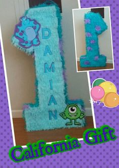 Monsters Inc piñata!