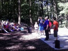 The Magic Bear: Columns AKA Human Mad Libs game LIVE from Snow Hill Library MD 8/4/2014