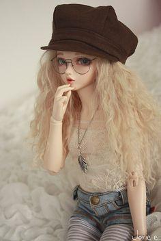 doll, cute, and barbie image Beautiful Barbie Dolls, Pretty Dolls, Ball Jointed Dolls, Ooak Dolls, Blythe Dolls, Enchanted Doll, Cute Baby Dolls, Kawaii Doll, Realistic Dolls