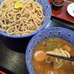#ramen #tokushima #japon - 12件のもぐもぐ - 濃厚魚介豚骨つけ麺 大 by maixx ใหม่