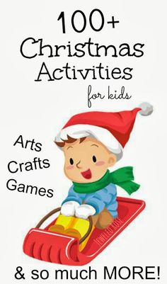 Christmas is coming... Christmas is coming!  Here is an amazing collection of Christmas Activities to help you make the most of the holiday season....so many FUN ideas!