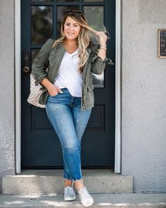 Curvy Girl Outfits, Mom Outfits, Cute Casual Outfits, Everyday Outfits, Spring Outfits, Curvy Fashion, Look Fashion, Plus Size Fashion, Fashion Outfits
