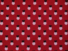 original fabric is a block printed cotton used as a lining of a girls bonnet form Løten, Norway, made of brocaded silk with a dark brown ground. The red ground of the lining was probably produced as a reserve print, leaving the berries white, and then block printed in brownish black. The print can be dated to the first decade of the 19th century. Similar prints were produced in Denmark and that might be the origin also of this fabric.