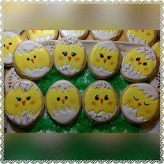 Easter chicks cookies