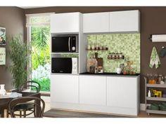 Kit Cozinha Multimóveis Linea Nicho para Forno - Micro-ondas 6 Portas  de R$ 1.599,00 por R$ 749,90 em até 10x de R$ 74,99 sem juros no cartão de crédito  ou R$ 712,41 à vista
