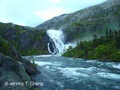 Norway - Husedalen wateralls