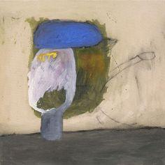 Janne Räisänen: Pollo ohne Umlaute  2011  graphite, acrylic and oil on canvas  68 x 68 cm