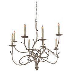 Isadora  862  8 Light Chandelier