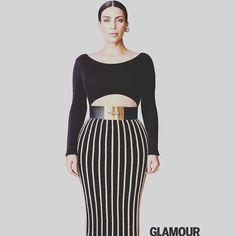 @balmainparis  #KimKardashian photographed by #PatrickDemarchelier wears #Balmain Fall/Winter 2015 styled by #JillianDavison for #GlamourUS #BalmainArmy