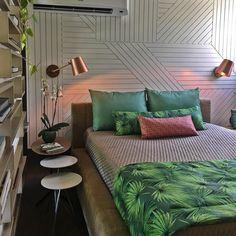 Sou encantada por este quarto da @casacorpeoficial via : @decorcool Snap: Decoredecor Photo: Juliano Dubeux e PMZ Arquitetura. Photo: @decoredecor  ARCHITECTURE | INTERIORS | DREAMS