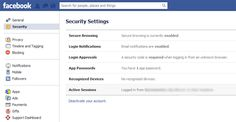 How to Lockdown Your Facebook Account For Maximum Privacy and Security.   Check them every so often because FB will reset them.