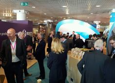 #MIPIM Day 2 Networking on the Greater Birmingham stand