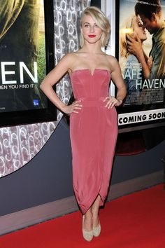 Julianne Hough at the Toronto premiere of 'Safe Haven' @ the #Scoitabank Theatre in Toronto Canada on 1/21/13