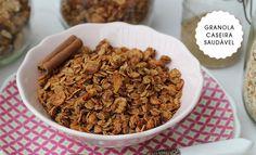 Os Achados   Gastronomia   Granola Caseira Saudável