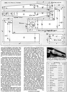 #2759 HomeMade Scroll Saw Plans - Scroll Saw