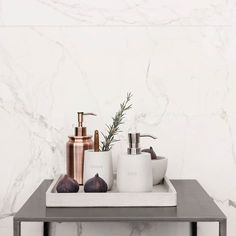 give your bathroom styling a little update? Wanna give your bathroom styling a little update?Wanna give your bathroom styling a little update? Bathroom Counter Decor, Bathroom Tray, Bathroom Inspo, Bathroom Styling, Bathroom Interior Design, Bathroom Inspiration, Modern Bathroom, Small Bathroom, Bathroom Accessories Luxury