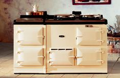 The 4-oven AGA Classic cooker in Cream.