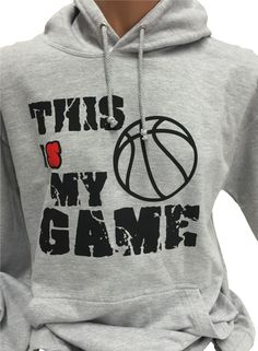 Basketball Hoodie This is my Game