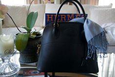 Hermes 31cm Black CHAMONIX Bolide with Gold hardware Credit: S'Mom @ tpf
