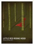 Red Riding Hood Poster by Christian Jackson