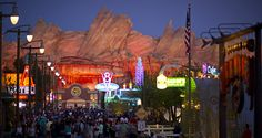 "Explore Radiator Springs from ""Cars"" at Disney's California Adventure 