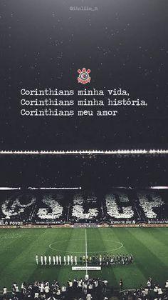 Papel de parede Corinthians. Ios 7 Wallpaper, Tumblr Wallpaper, Wallpaper Corinthians, Fifa Football, Aston Villa, Sports Clubs, Neymar Jr, Location History, Humor