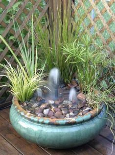 Big ideas in little spaces: Water gardening in a small area - http://sunlandwatergardens.com/pond-talk/pond-supplies/big-ideas-little-spaces-water-gardening-small-area/ #WaterGarden