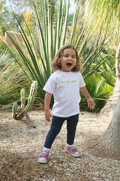 BITE ME Organic Kids Tee. You = what you eat. Healthy habits will help you grow up to be strong and happy. Clean veggies and protein give us the energy to play all day. ShopPositiveEnergy.com. Made in California, USA. Woman Owned. Mother and daughter company. Organic Cotton. Water-based Ink. Get Inspired. Eco Conscious & Responsibility. Change the world. Make a change for a better world. Spread Love and Kindness. Do Better. Feel Better. Be Better. Be an Advocate for a Better World!