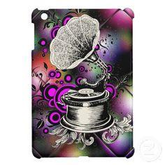 Abstract Extravaganza's Victrola Record Player iPad Mini Cases