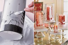 candle holders #DIY